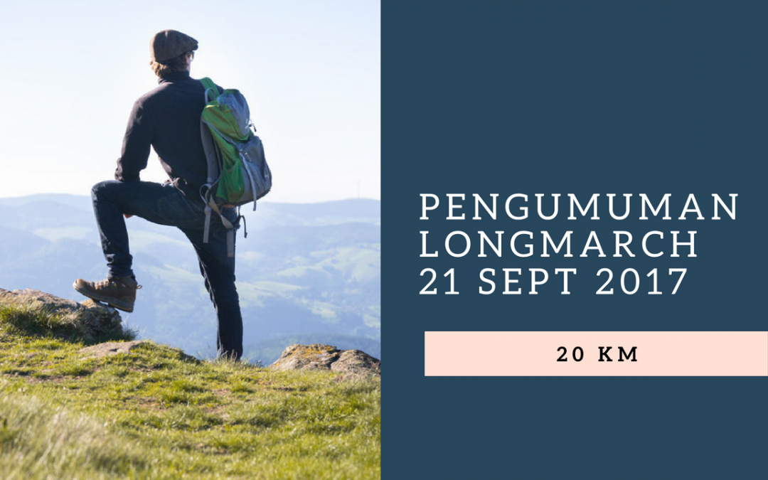 Pengumuman Longmarch