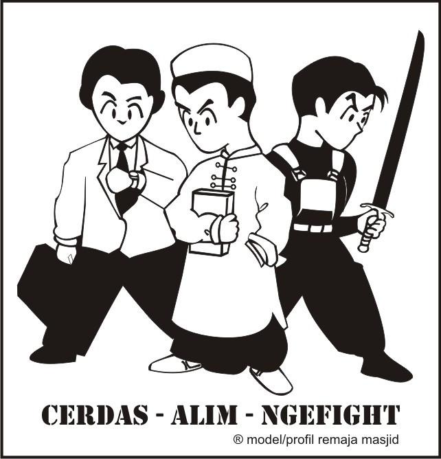 "Mewujudkan Remaja Masjid Nge""fight"""