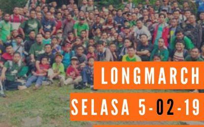 Longmarch 5 Februari 2019
